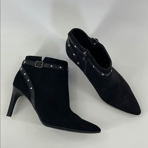 SAM & LIBBY ANKLE HEEL BOOTS